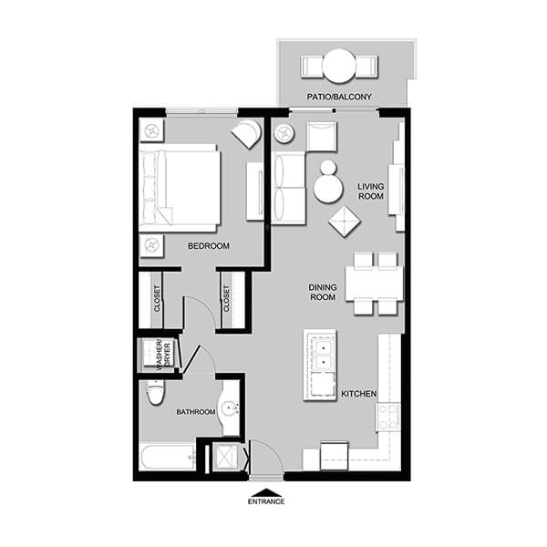 Cameron Estates CITRINE - 1 Bedroom Apartments in West Palm Beach